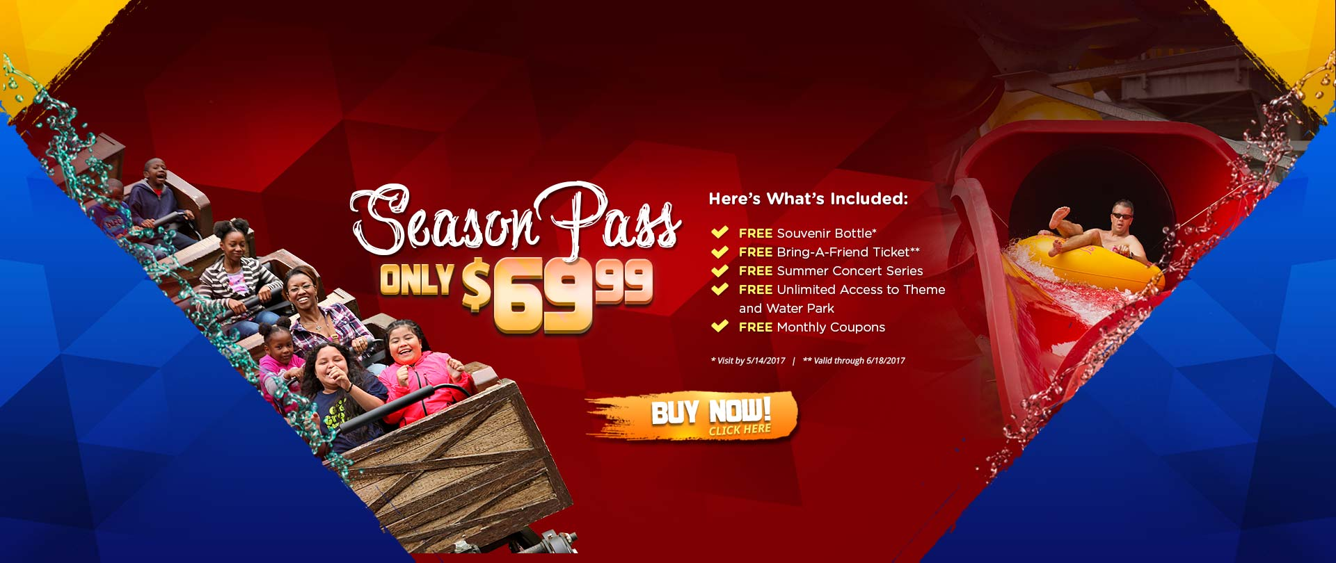 Magic springs discount coupon